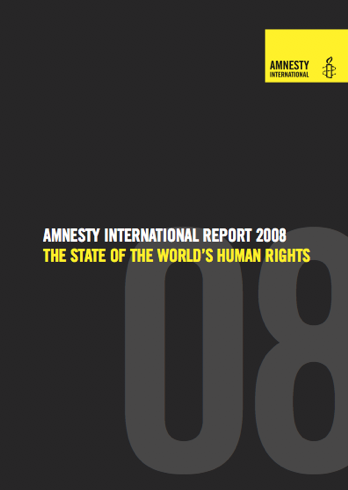 Amnesty International Report 2008